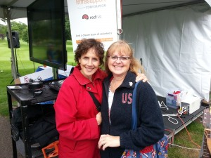 MaryRose Varo sang for the troops this year. Kathy Dunaway worked tirelessly behind the scenes.